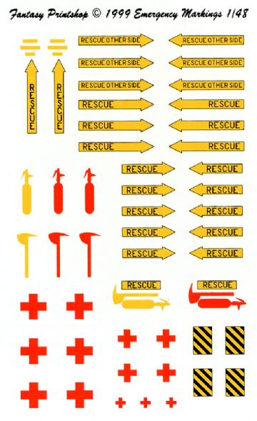 Aircraft Emergency Markings (48)